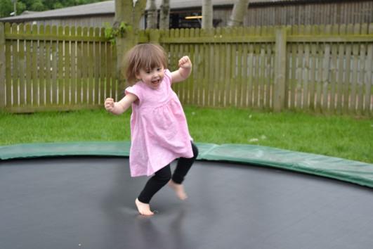 Ava jumping