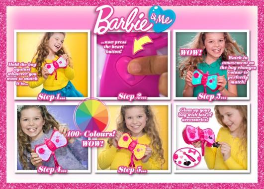 Barbie Colour Change Bag