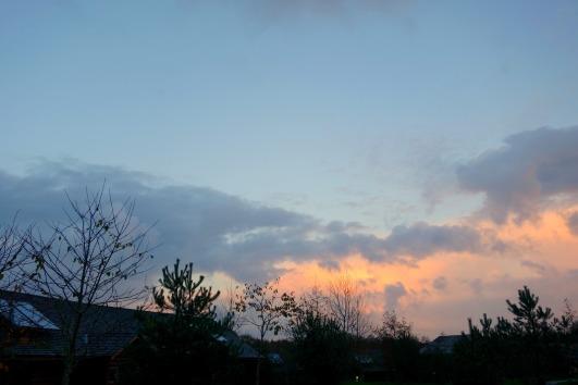Beautiful Sky at Bluestone Wales