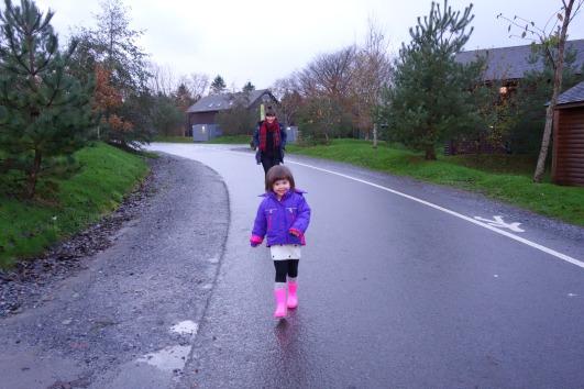 Strolling through Bluestone National Park Resort