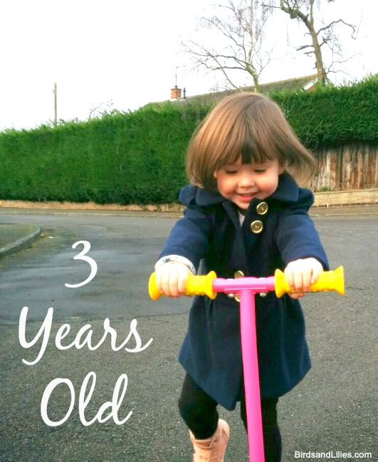 Three Years Old