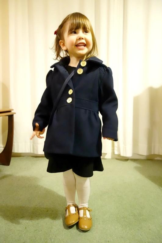 Ava on her third birthday
