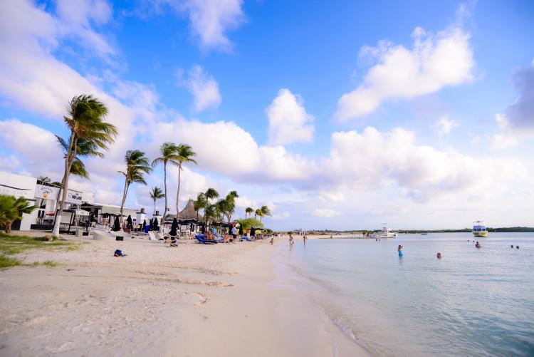Barefoot on Nikki Beach