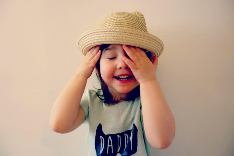 Ava in hat