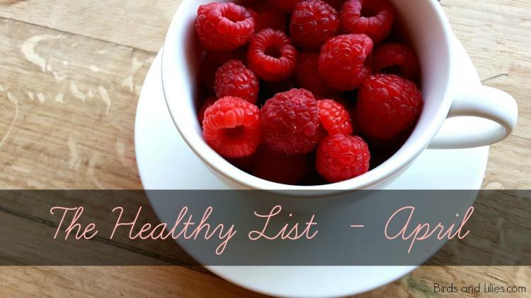 The Healthy List - April