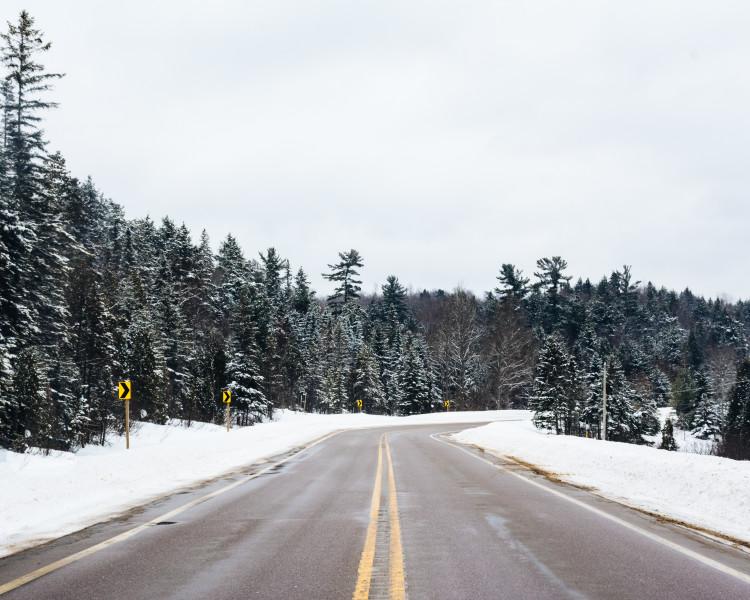 Snowy America