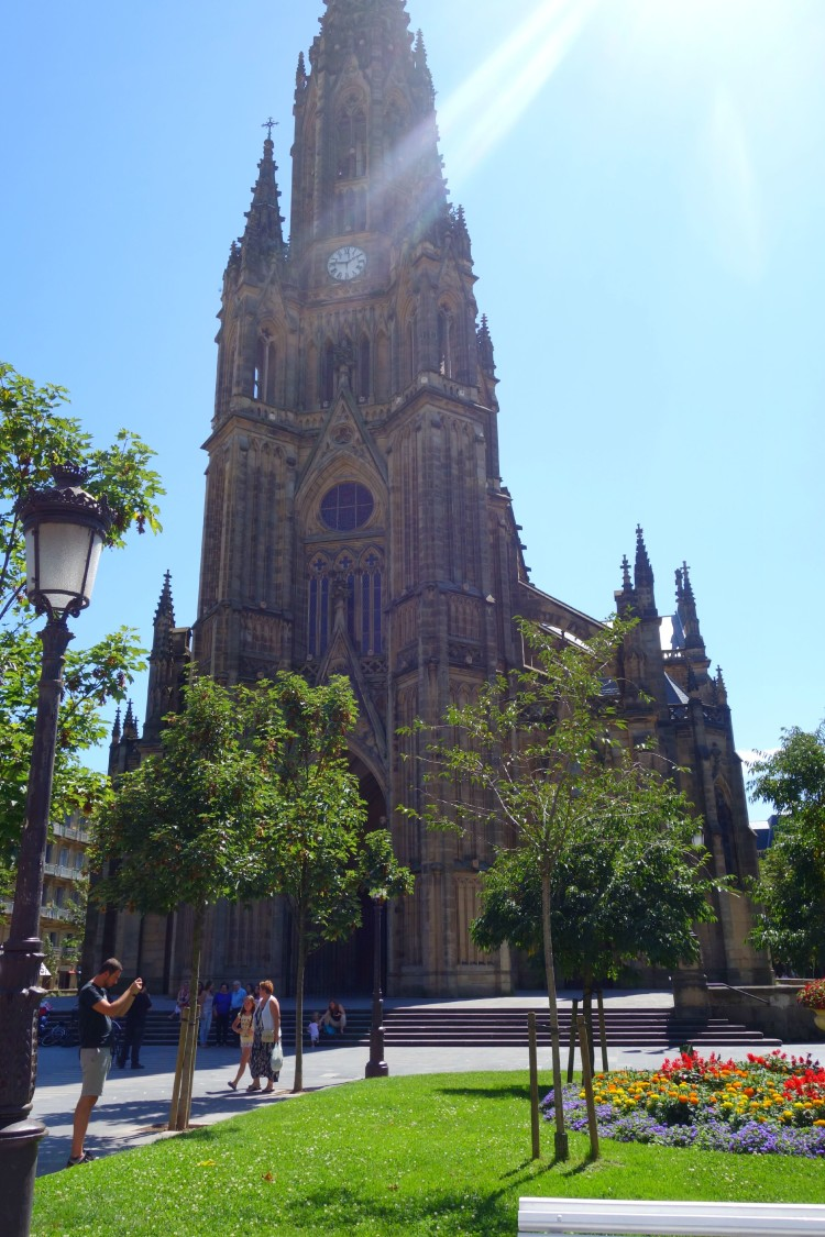 Church in San Sebastian