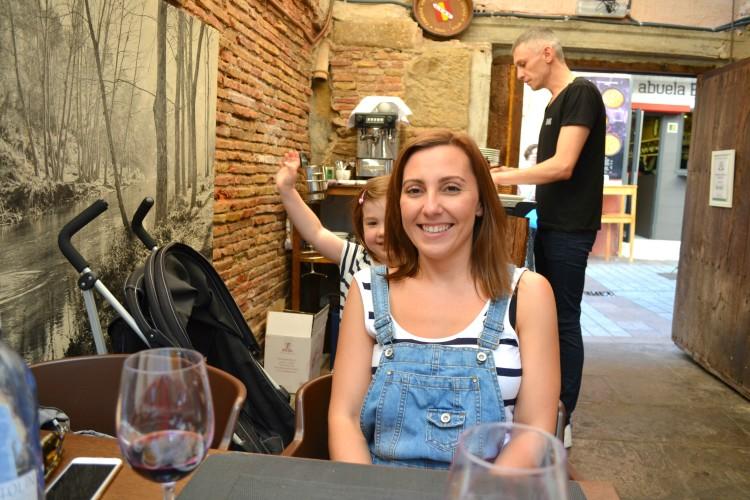 Restaurant in Logrono, Spain