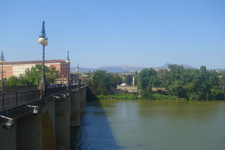 River in Logrono