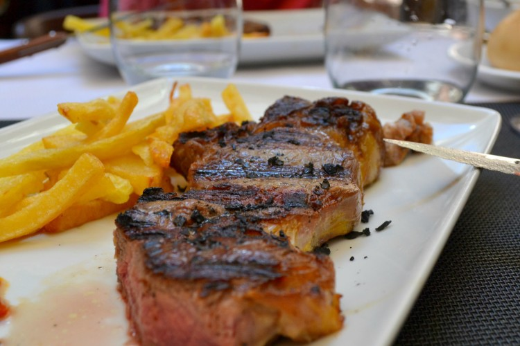 Steak in Logrono
