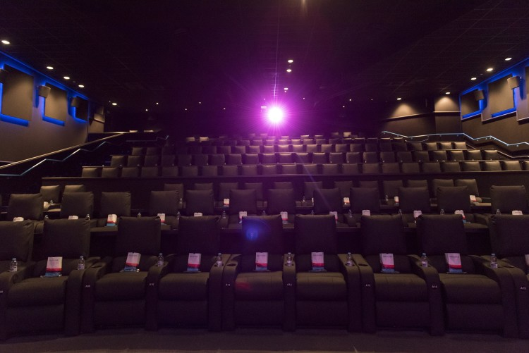 Showcase Cinema De Lux Seats