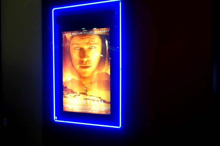 The Martian at Showcase Cinema de Lux