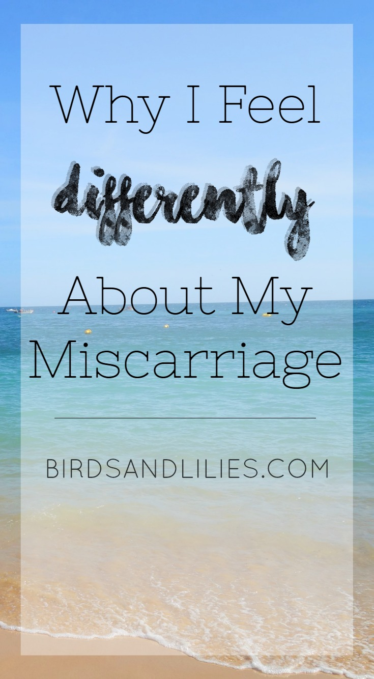 Why I Feel Differently About Miscarriage Birds and Lilies