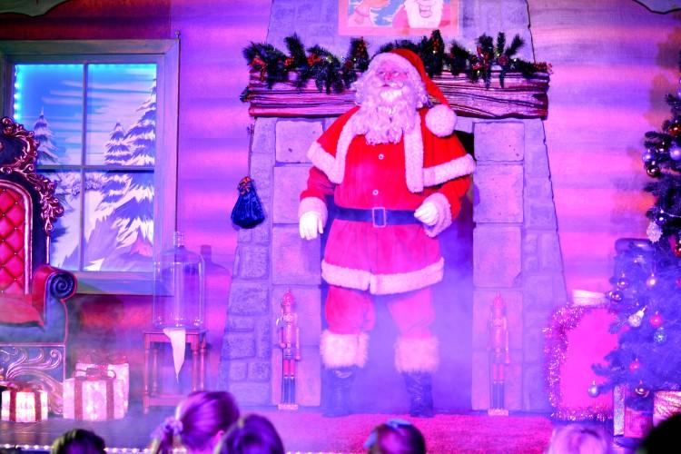 Santa Claus at Cadbury World