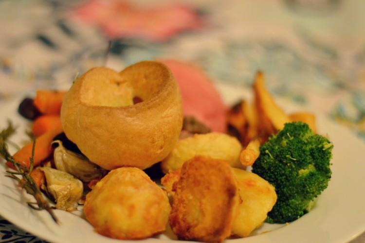 Tesco sixty minute roast dinner challenge