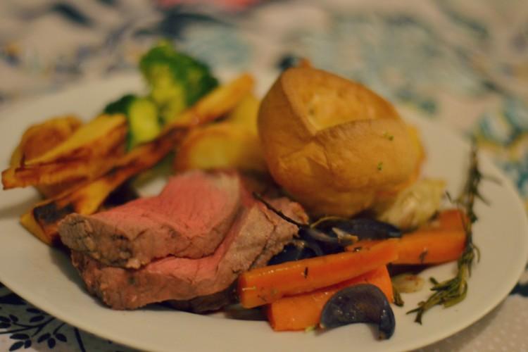 roast dinner challenge