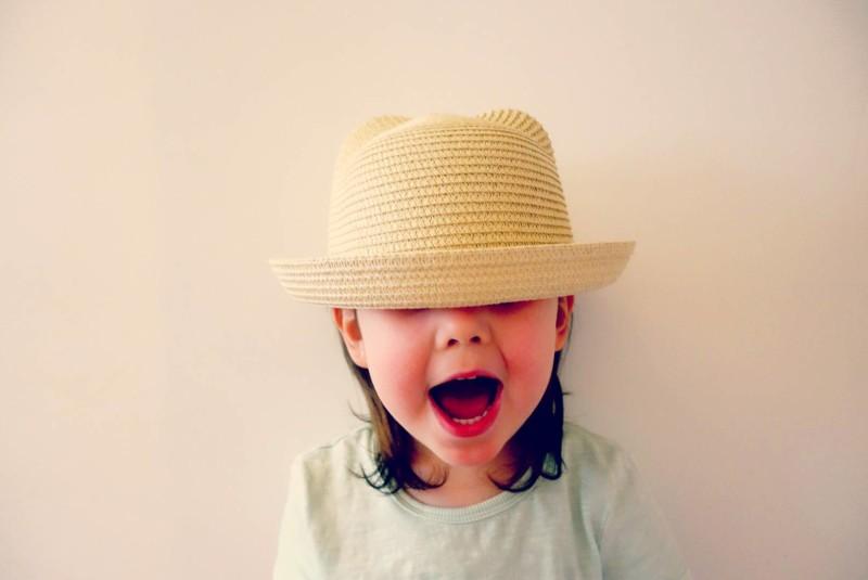 Ava in Little and Fierce Hat