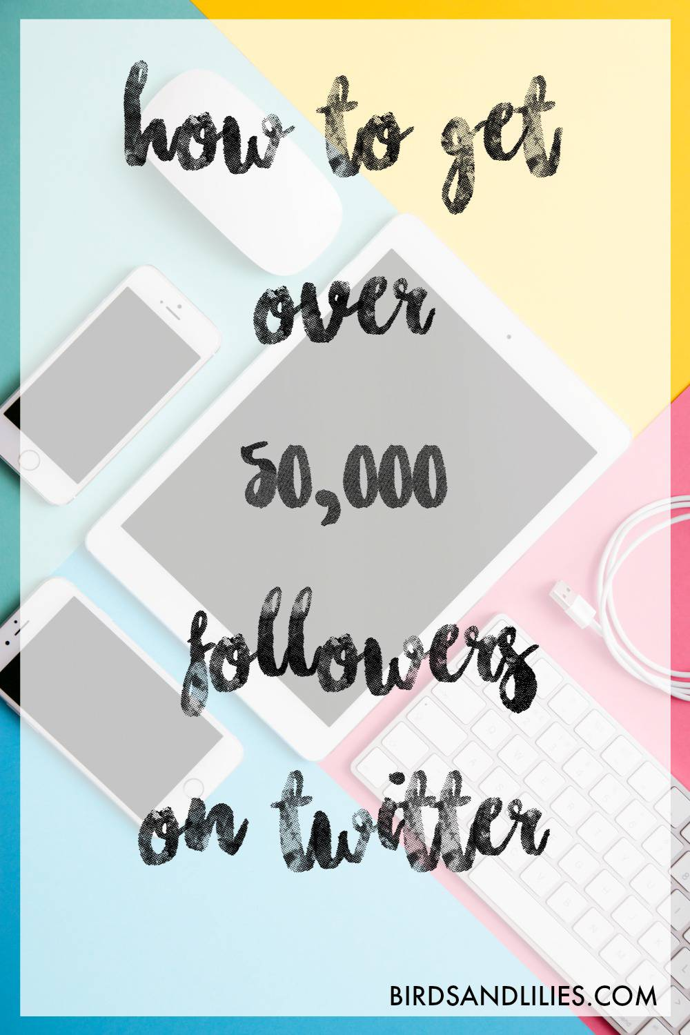 how to get over 50,000 followers on twitter