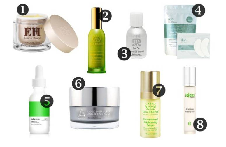 luxury skincare wishlist