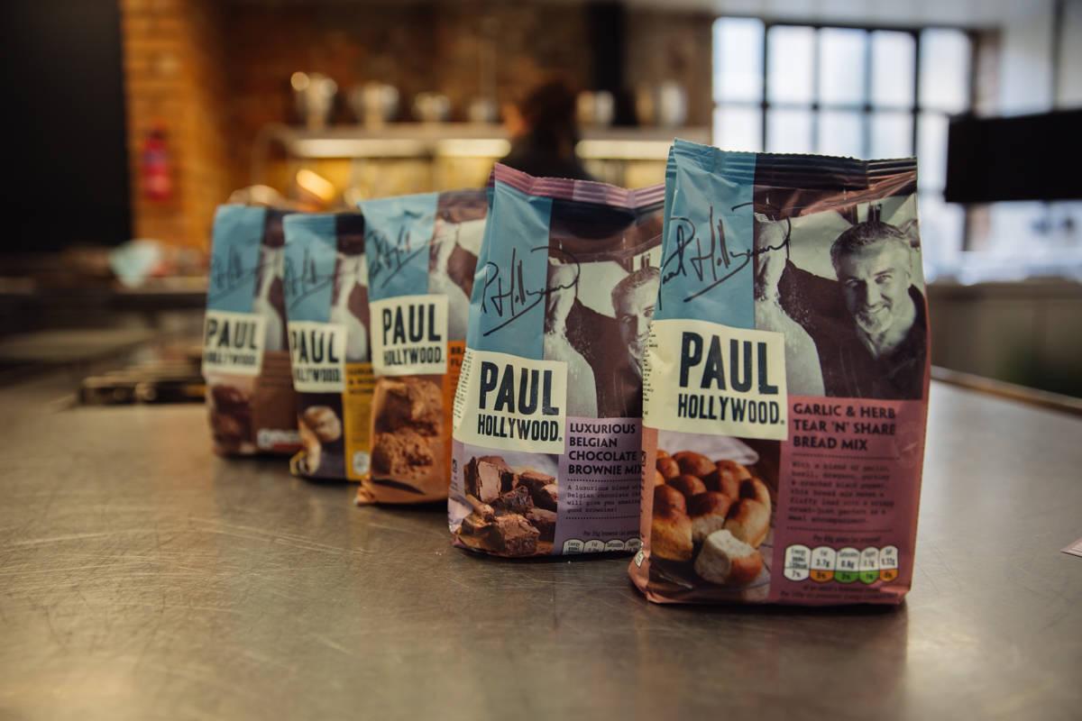 paul hollywood baking mixes