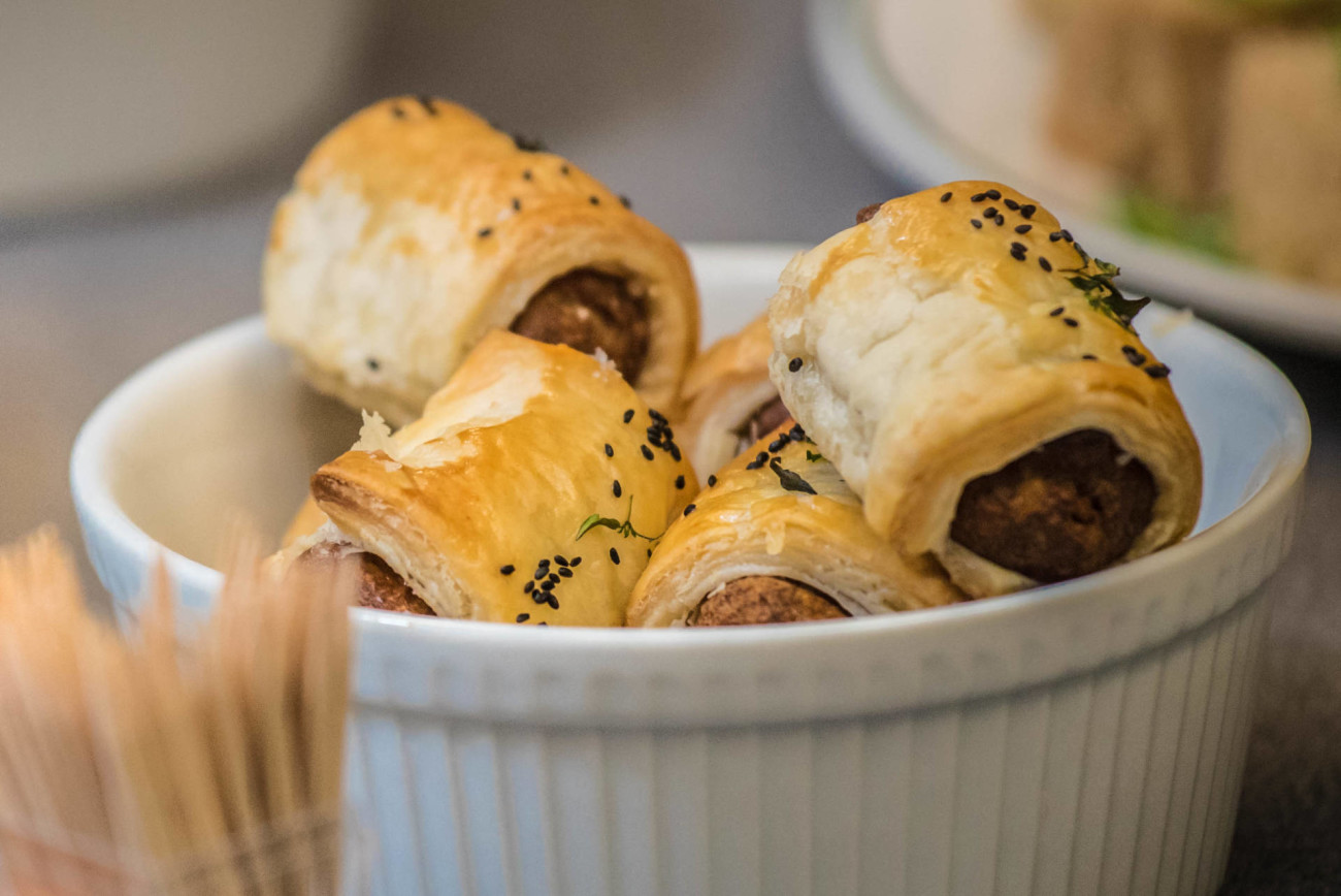 quorn homemade sausage rolls