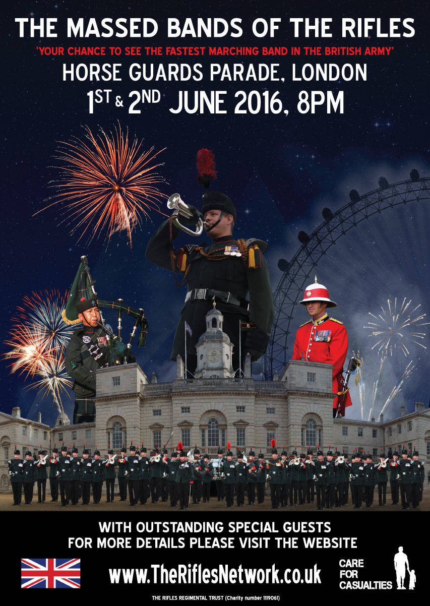 Win tickets to The Rifles Horse Guards