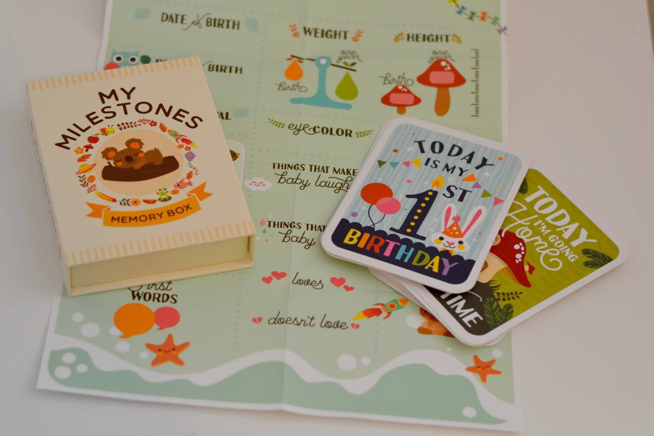 mushy moments milestone cards review