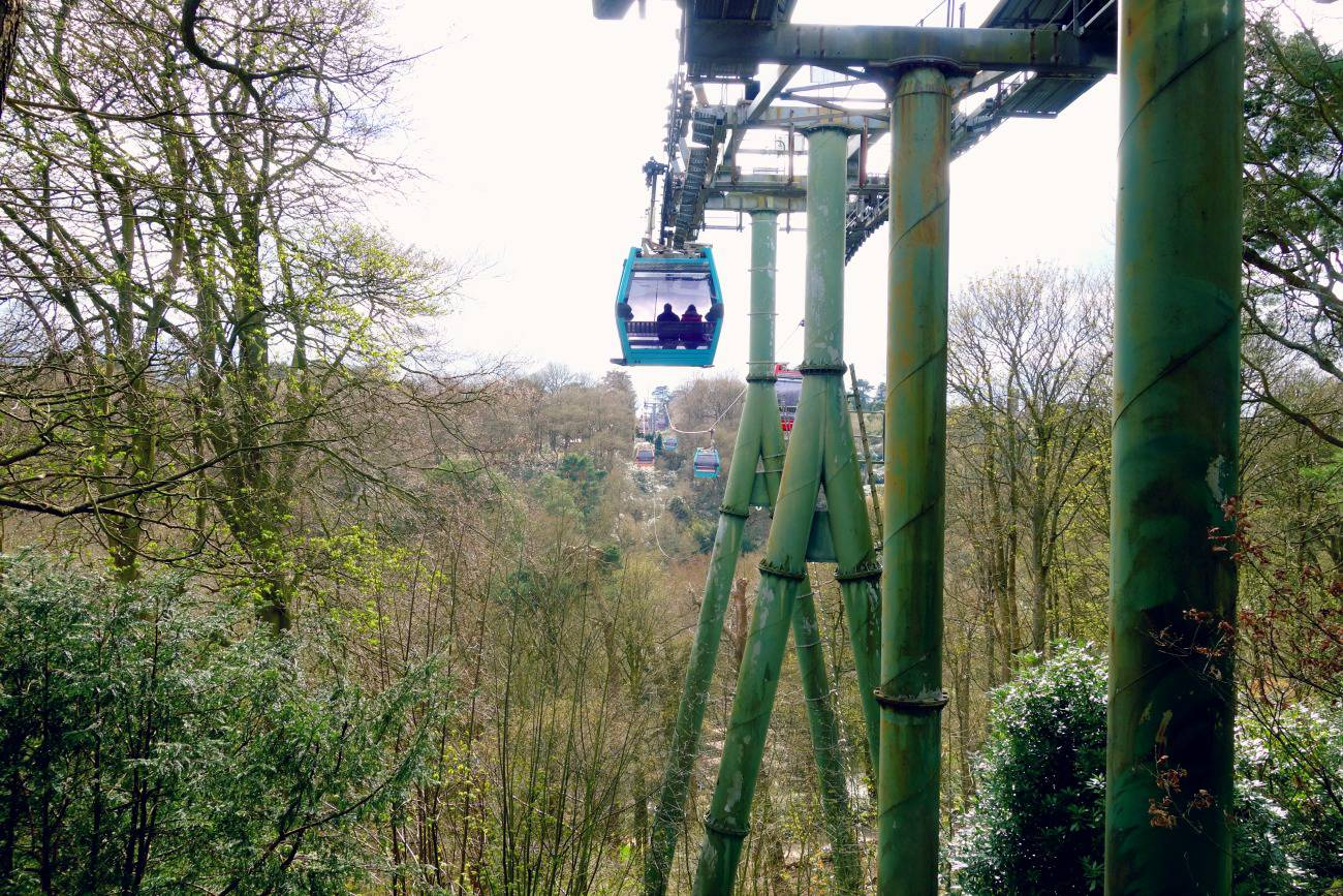 cable cars at alton towers