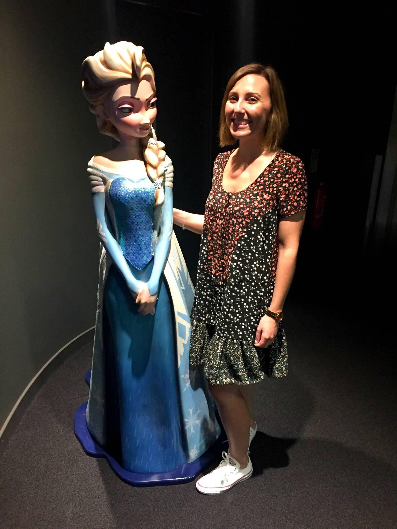 Elsa and I