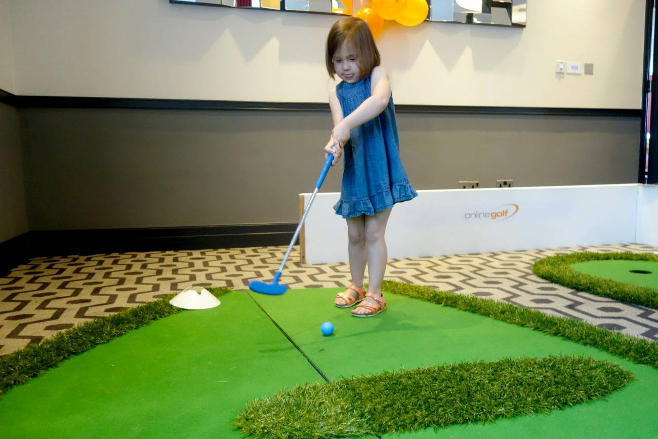getting kids into golf