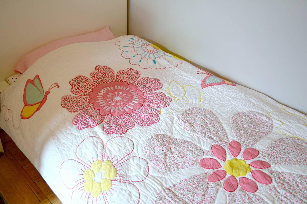 ollie and leila daisy floral quilt