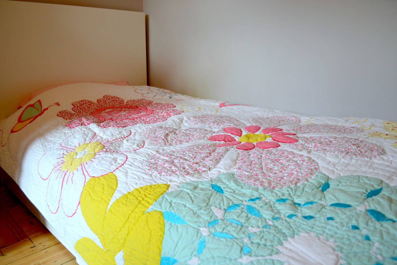 ollie and leila floral quilt