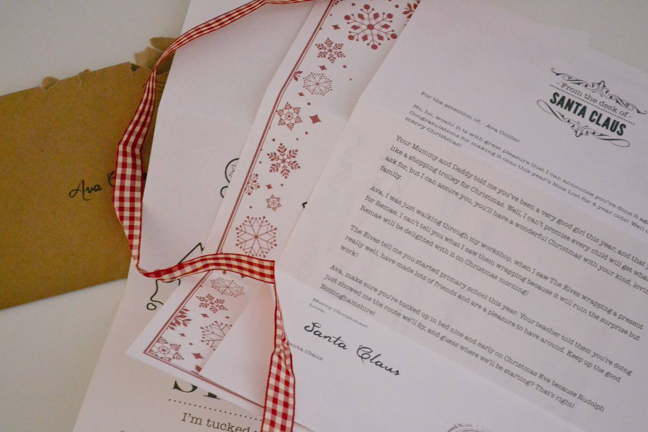 Ignite the magic of christmas my letter from santa claus review my letter from santa claus review spiritdancerdesigns Gallery