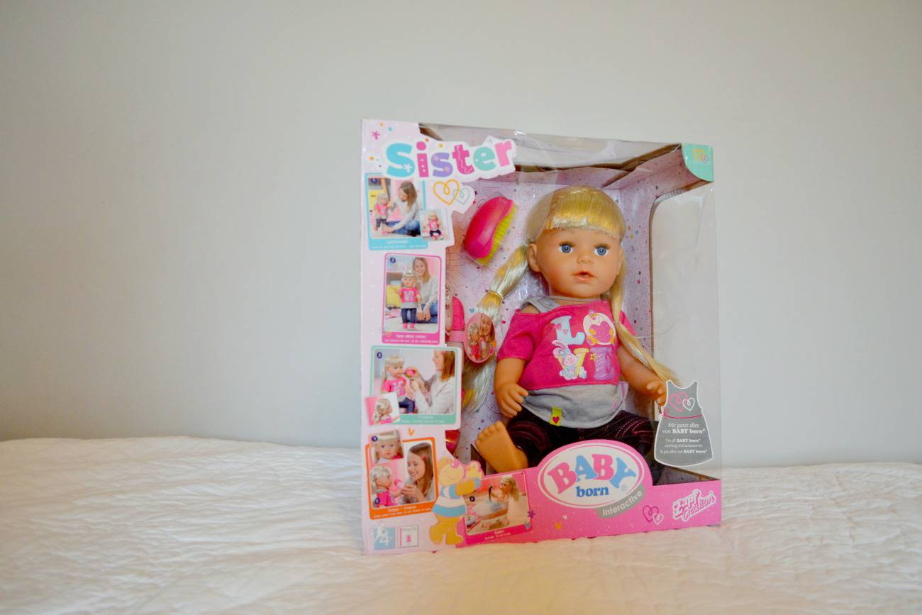 Baby Born Sister Doll