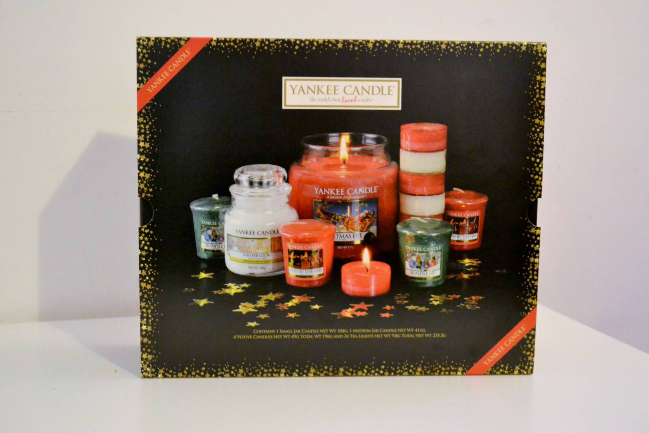 Win A Yankee Candle Christmas Candle Gift Set