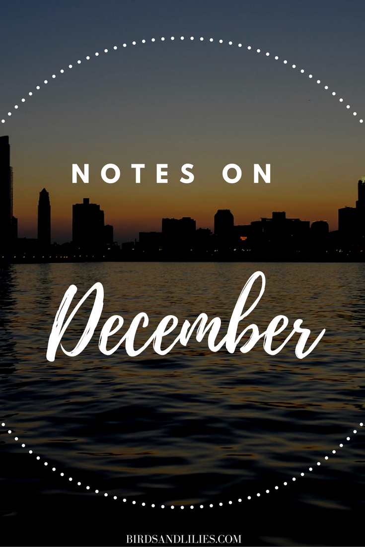 notes on december