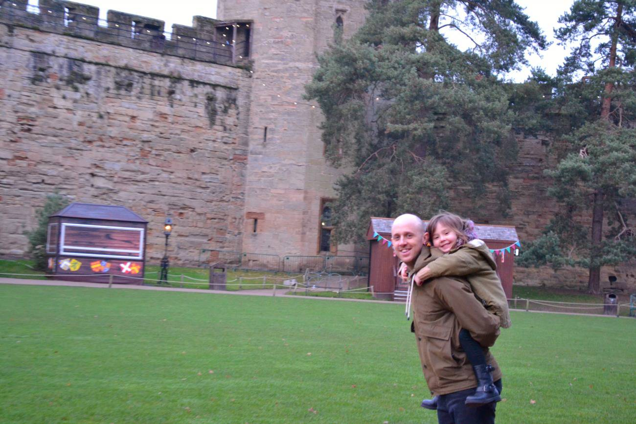 Warwick Castle at Christmastime