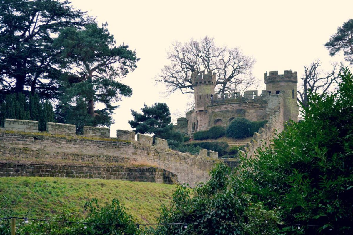 warwick castle at christmas