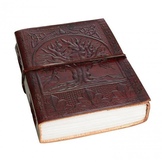 Win an Indra Celtic Tree Of Life Leather Journal from Paper High | A Giveaway