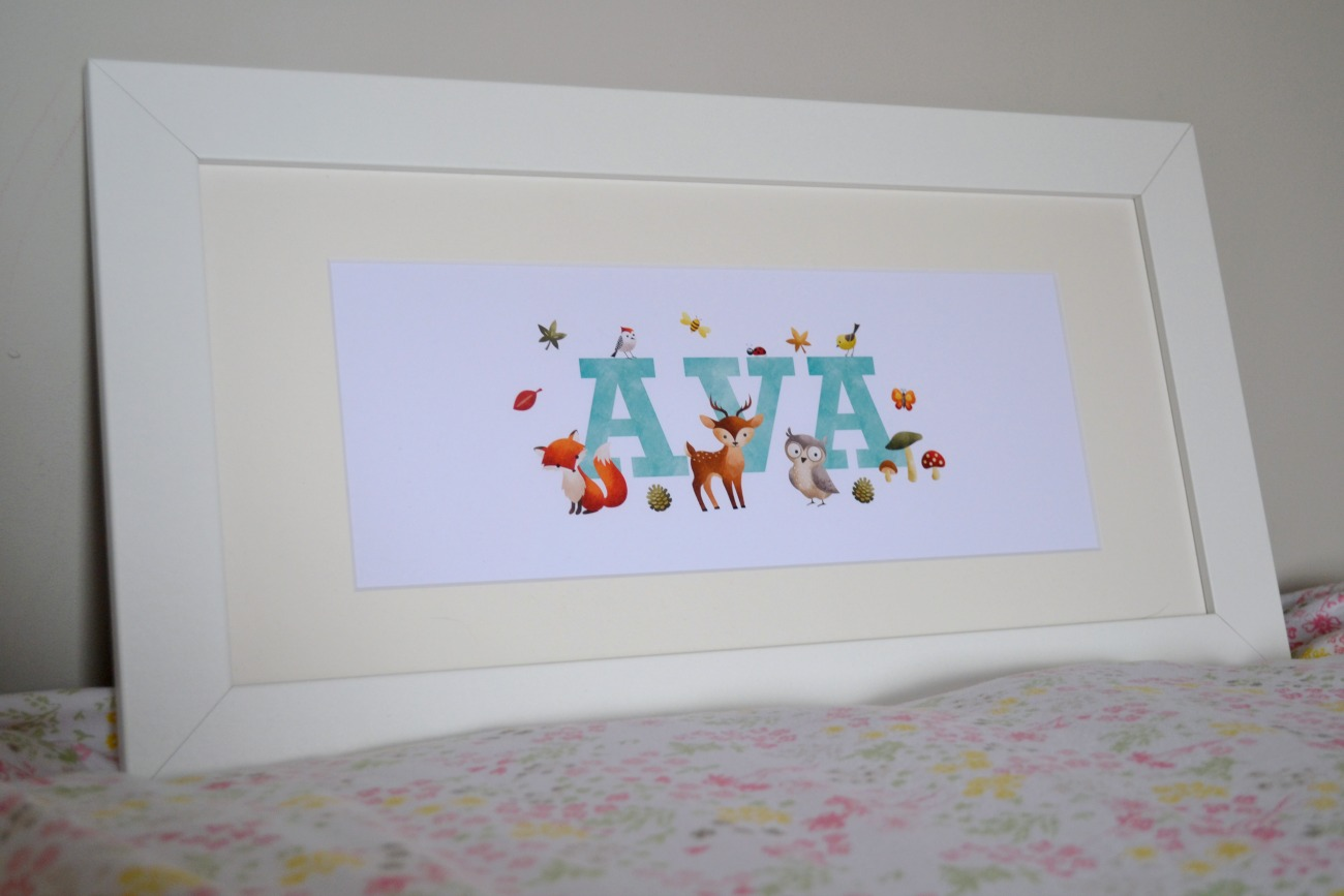 Personalised Prints, From Frame My Name // A Review & Giveaway ...
