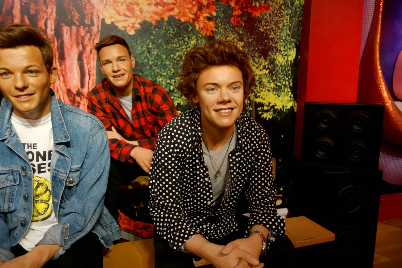 Selfies With the Stars, at Madame Tussauds London